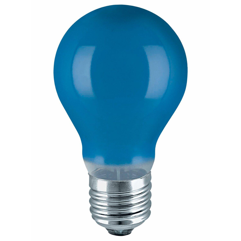 Osram Standard-Lampe Glühlampenform Blau E27 / 11 W EEK: E