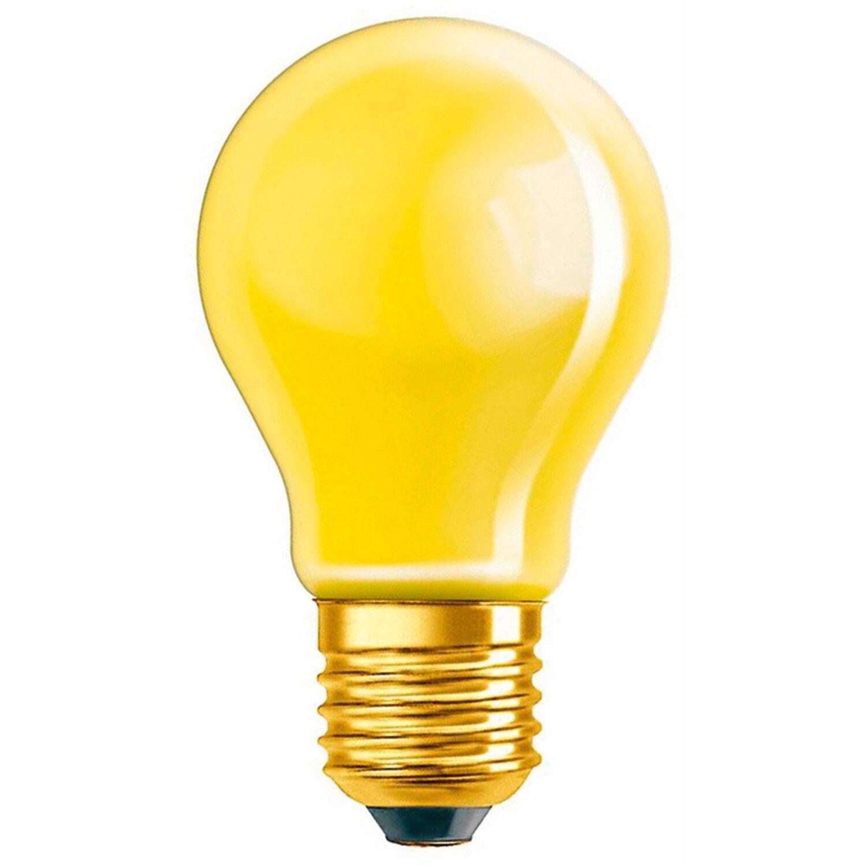 Osram Standard-Lampe Glühlampenform E27 / 11 W (27 lm) Gelb EEK: E