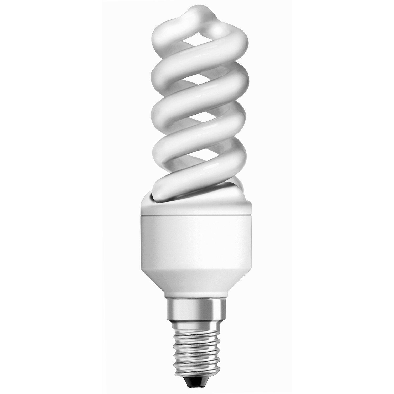 Osram E14 9W 827 Energiesparlampe Spiralform