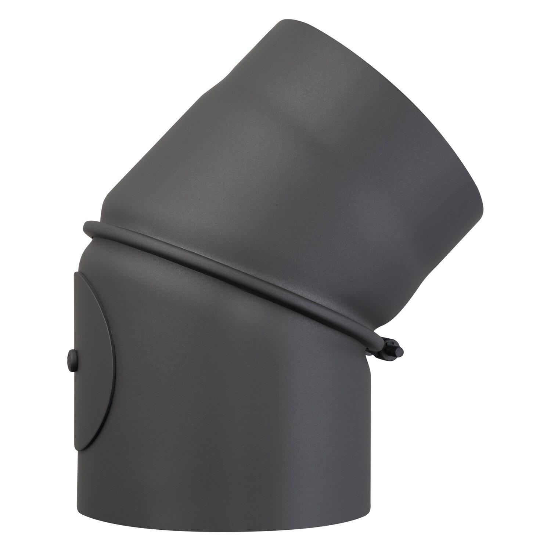 obi rauchrohrbogen 45 150 mm grau kaufen bei obi. Black Bedroom Furniture Sets. Home Design Ideas