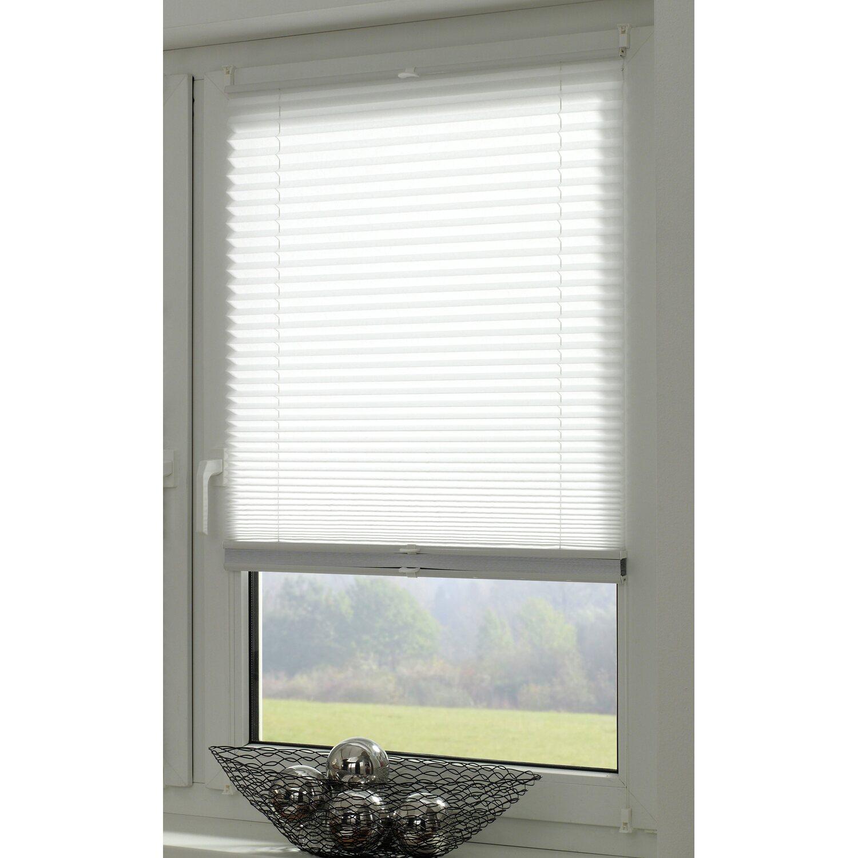 gardinia easy fix plissee tag und nacht wei 50 cm x 130 cm kaufen bei obi. Black Bedroom Furniture Sets. Home Design Ideas