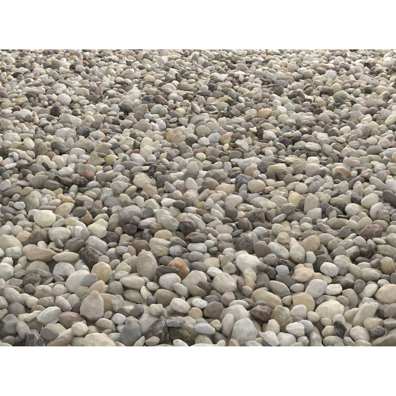 Buntkies rhein bunt 40 mm 80 mm 25 kg sack kaufen bei obi for Obi zierkies