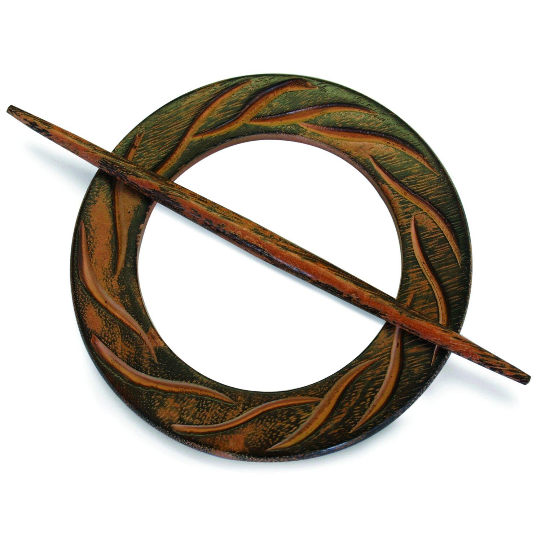 Gardinia Dekoring Rund Holz Wenge 12 cm