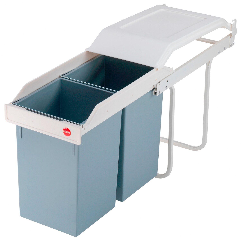 Hailo Einbau-Mülleimer Multi Box 20 x 20 l
