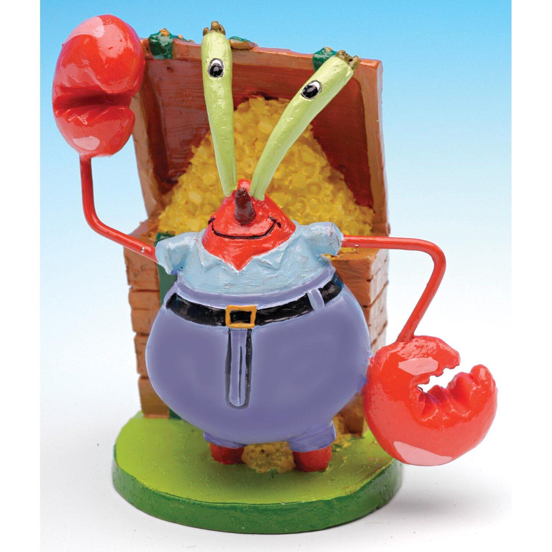 Pennplax Dekofigur Aquarium SpongeBob Mr. Krabs 5 cm