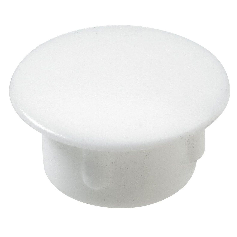 Hettich  Abdeckkappe 10 mm Kunststoff Weiß