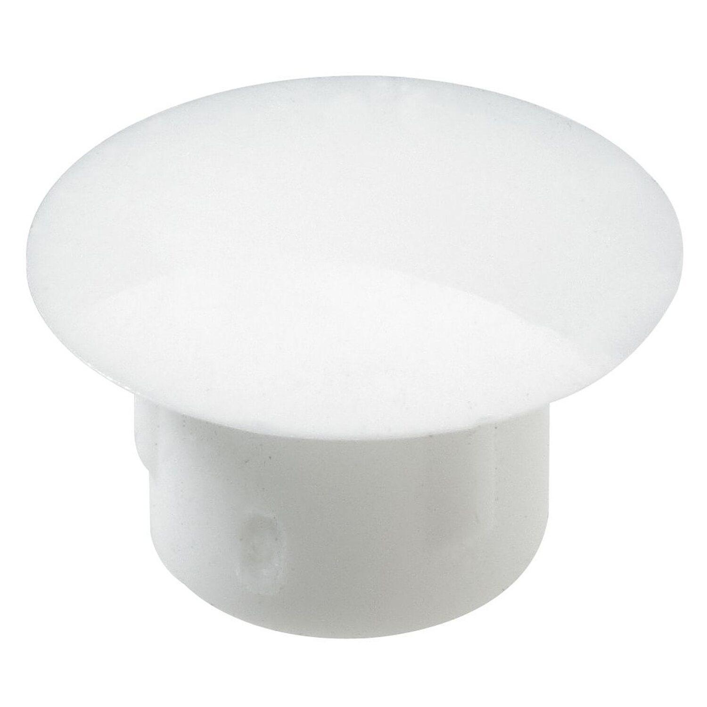 Hettich  Abdeckkappe 8 mm Kunststoff Weiß