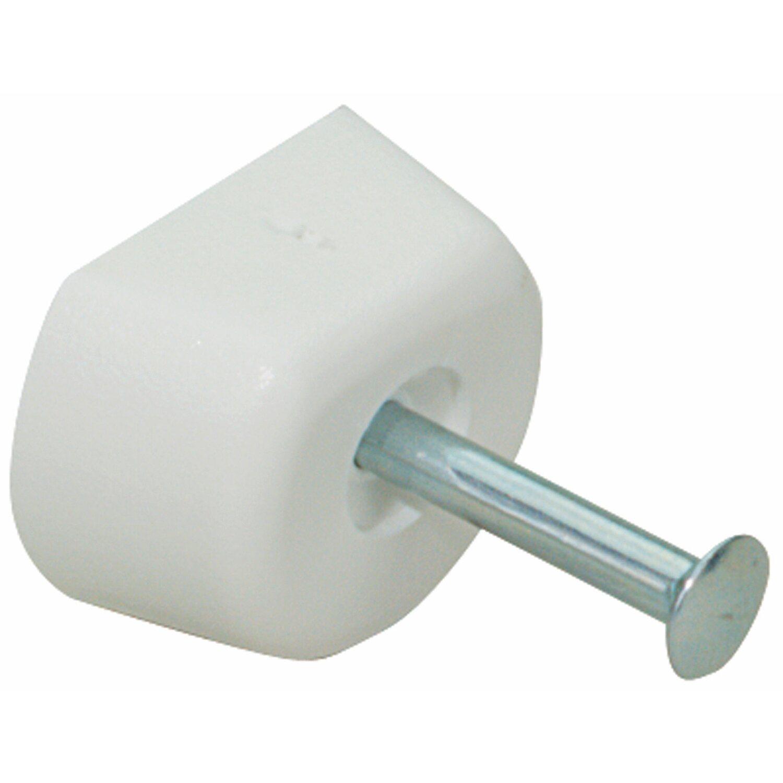 Hettich  Bodenträger mit Nagelstift Weiß
