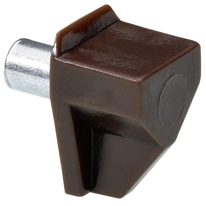 Hettich  Bodenträger Safety 5 mm Braun