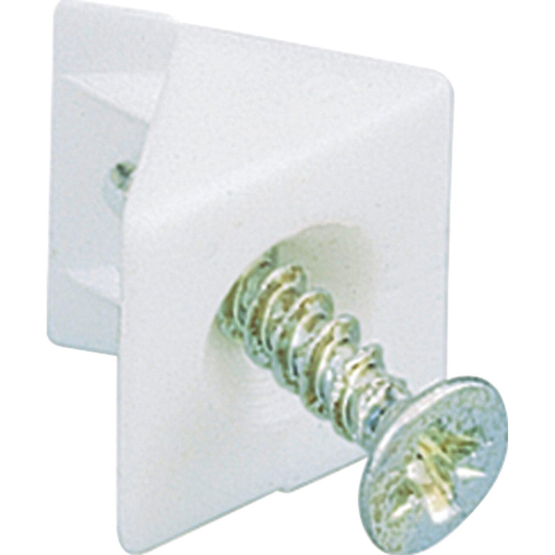 Hettich Rückwandstabilisator 15 mm x 10,7 mm Weiß kaufen bei OBI