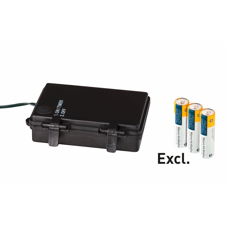 cmi kunsttannen girlande mit batterie beleuchtung 270 cm 35 led warmwei kaufen bei obi. Black Bedroom Furniture Sets. Home Design Ideas
