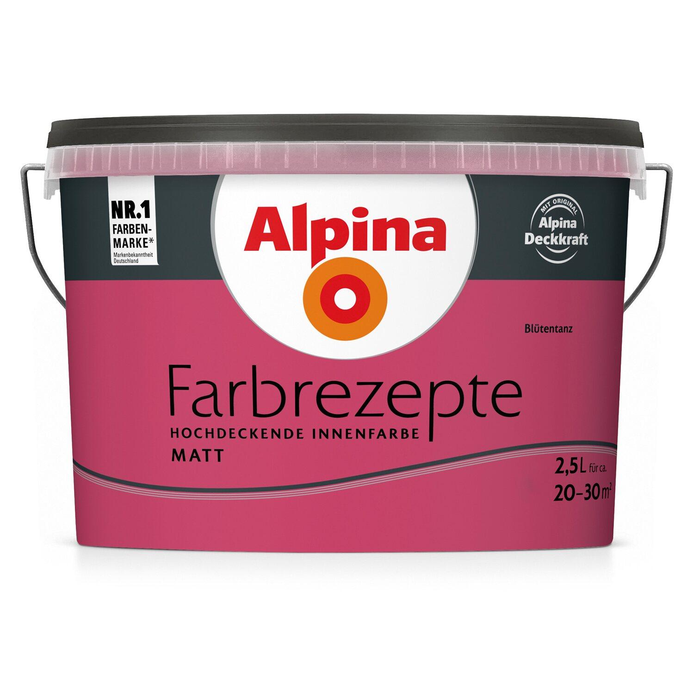 Alpina  Farbrezepte Blütentanz matt 2,5 l