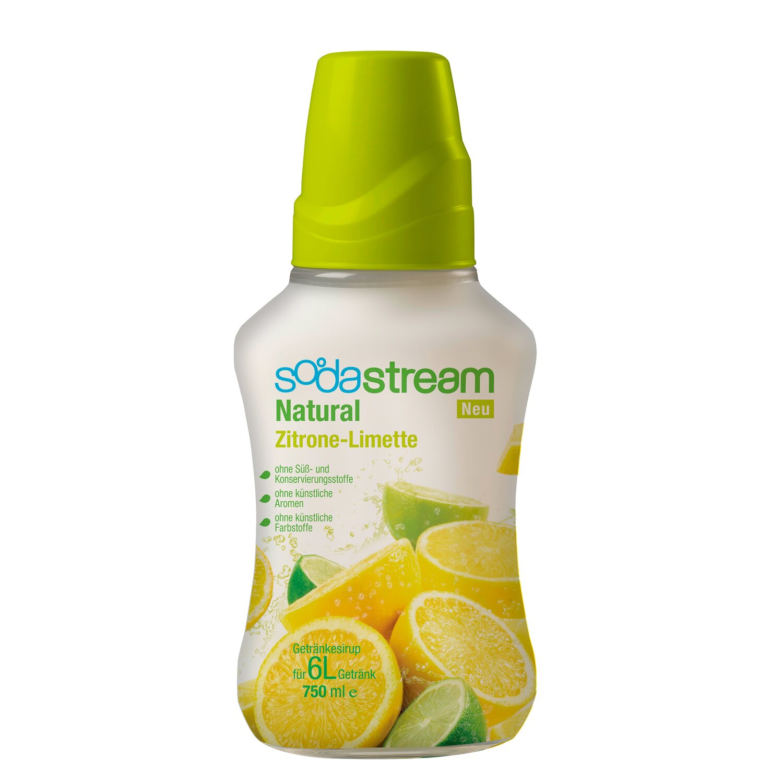 SodaStream Sirup Natural-Zitrone-Limette 750 ml kaufen bei OBI