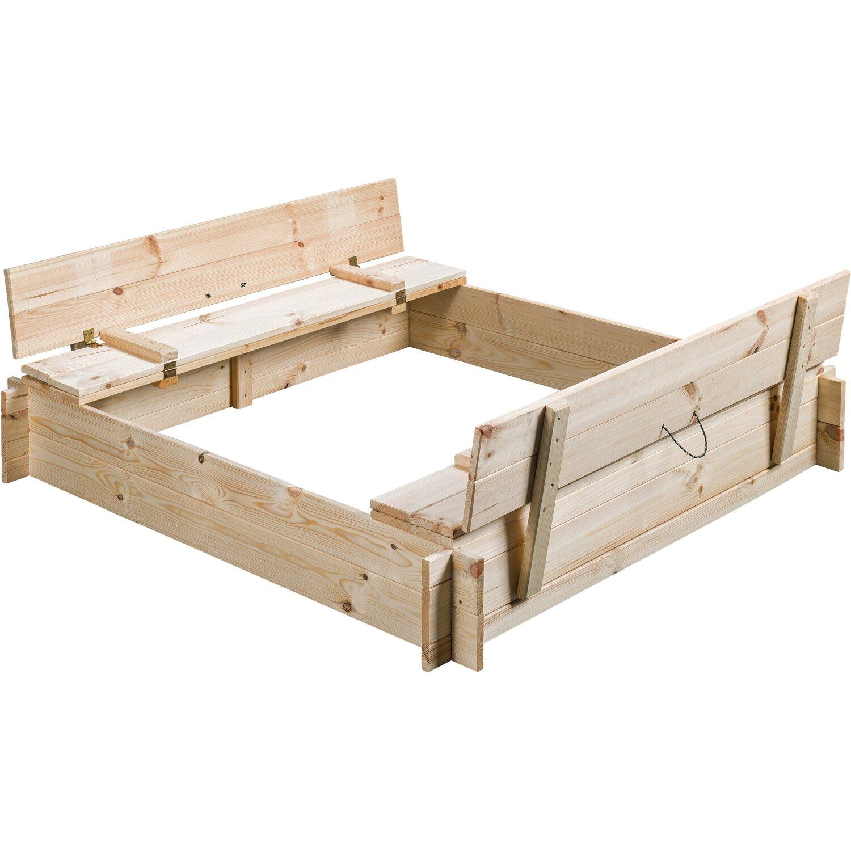 SwingKing Sandkasten Gucio unbehandelt 8 cm x 8 cm kaufen bei OBI