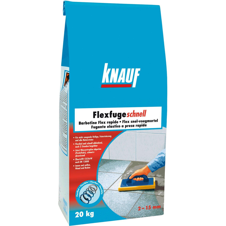 Knauf  Flexfuge Schnell Zementgrau 20 kg
