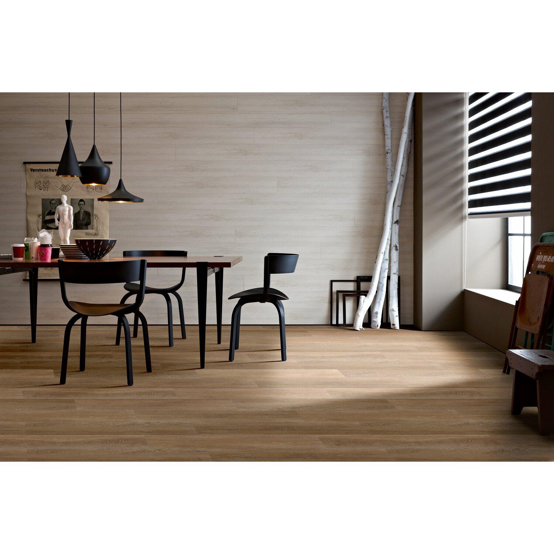 sch ner wohnen kollektion click vinylboden eiche dunkel. Black Bedroom Furniture Sets. Home Design Ideas