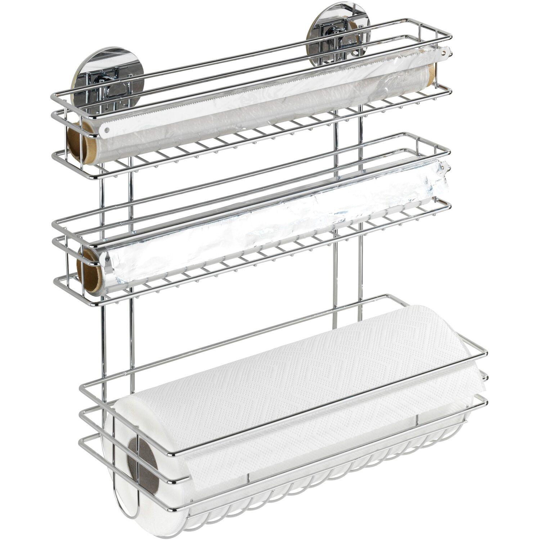 Küchenrollenhalter Selber Bauen wenko küchenrollenhalter trio turbofix kaufen bei obi