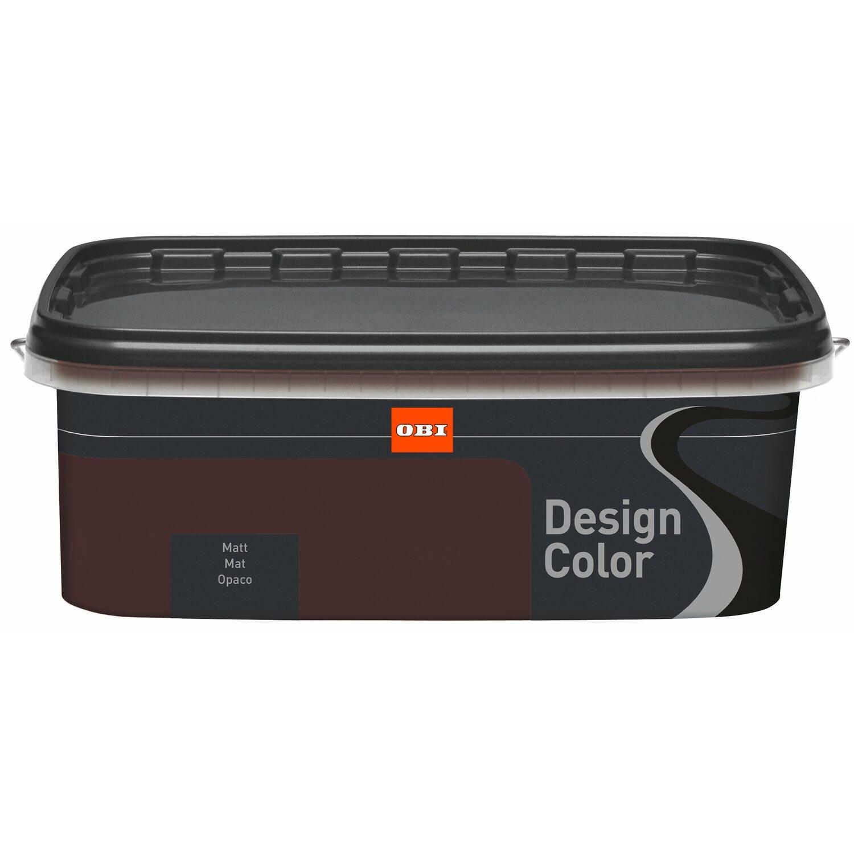Fantastisch OBI Design Color Chocolate Matt 1 L