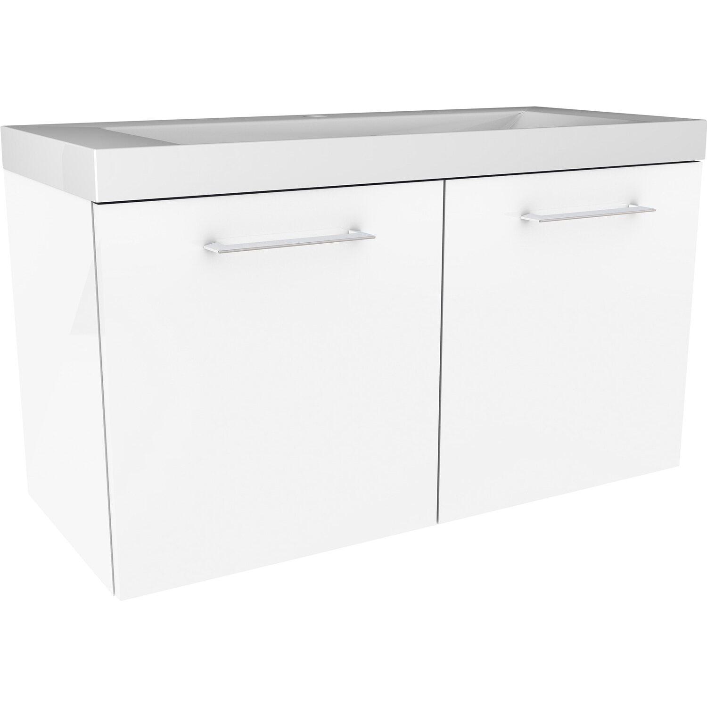 fackelmann waschbeckenunterschrank 80 cm lima wei 2 t rig kaufen bei obi. Black Bedroom Furniture Sets. Home Design Ideas