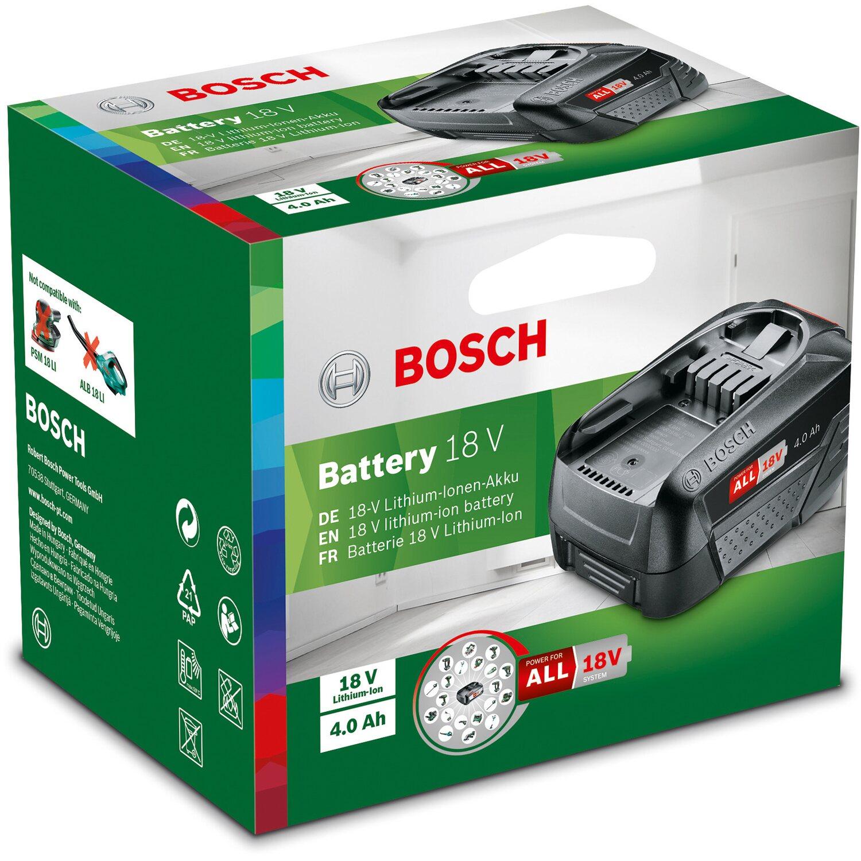 Bosch Ersatzakku 18 V 4 Ah