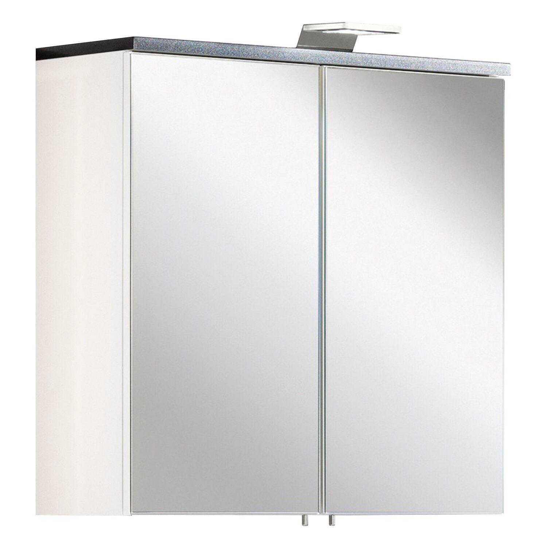 Fackelmann , EEK: A, Spiegelschrank Montreal 60 cm Weiß