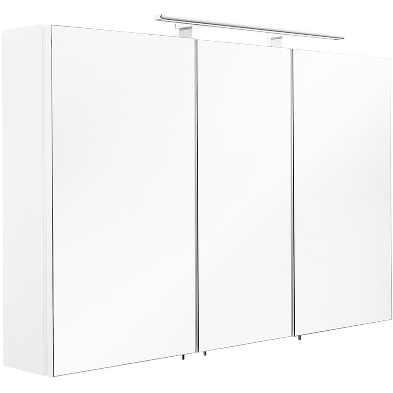 Posseik spiegelschrank 110 cm multi use wei eek a kaufen bei obi - Spiegelschrank 110 cm ...