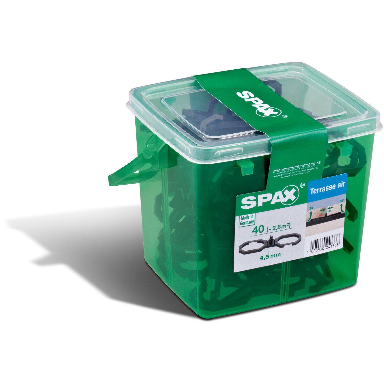 Spax Air-Belüftung 100 Stück 4,5 mm