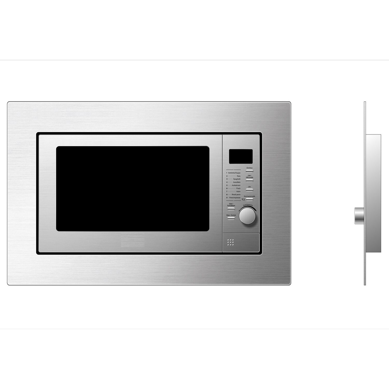 respekta einbau mikrowelle mw 800 edelstahl mit grill funktion 800 w kaufen bei obi. Black Bedroom Furniture Sets. Home Design Ideas