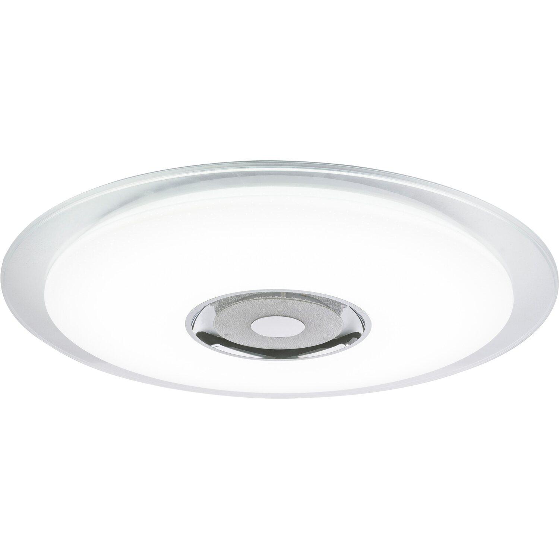 Globo LED Deckenleuchte Tune Sternenhimmeleffekt Weiß Ø 60 cm EEK: A