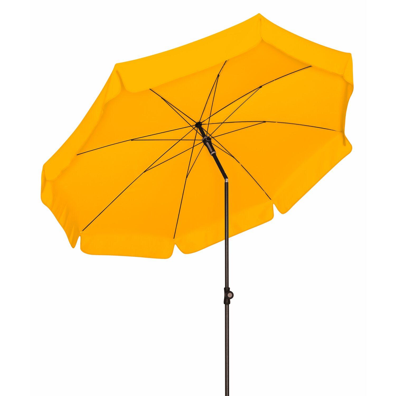 doppler sonnenschirm sunline rund 150 cm gelb kaufen bei obi. Black Bedroom Furniture Sets. Home Design Ideas