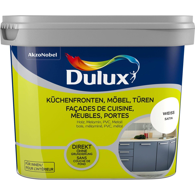 Dulux fresh up lack f r k chen m bel und t ren satin wei 750 ml kaufen bei obi - Mobel abholen lassen ...