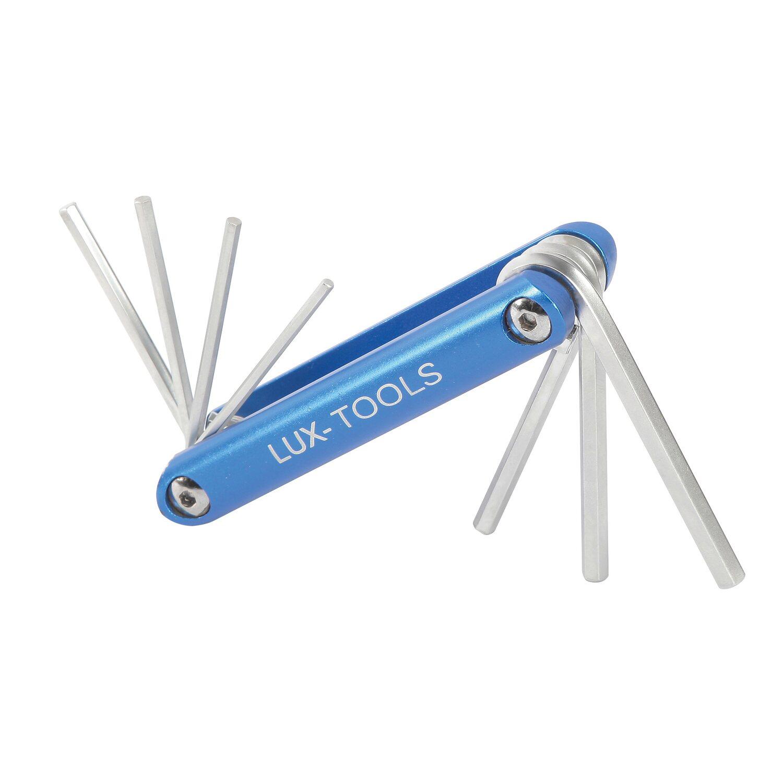 8 teiliger Inbus Stiftschlüsselsatz  2-10 mm