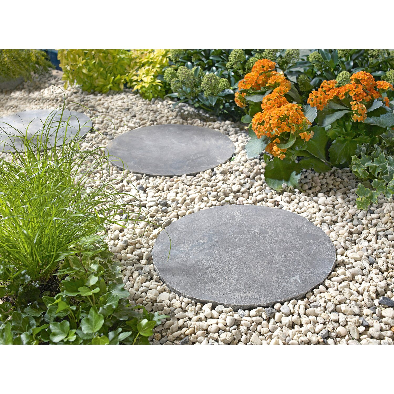 naturstein-trittstein graphit Ø 30 cm kaufen bei obi