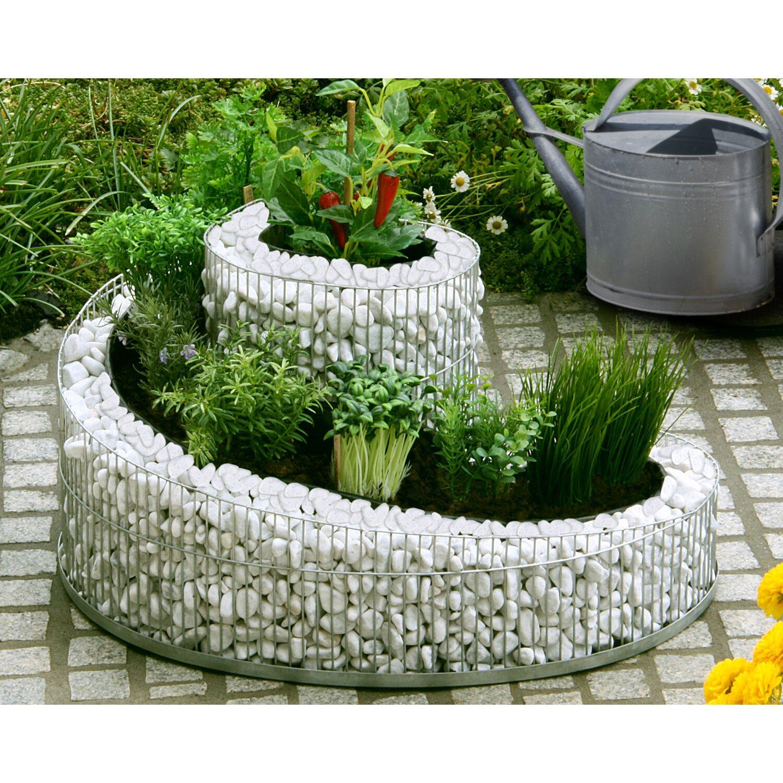 gabionen kr uterspirale f r balkon terrasse 29 cm x 42 cm 57 cm kaufen bei obi. Black Bedroom Furniture Sets. Home Design Ideas