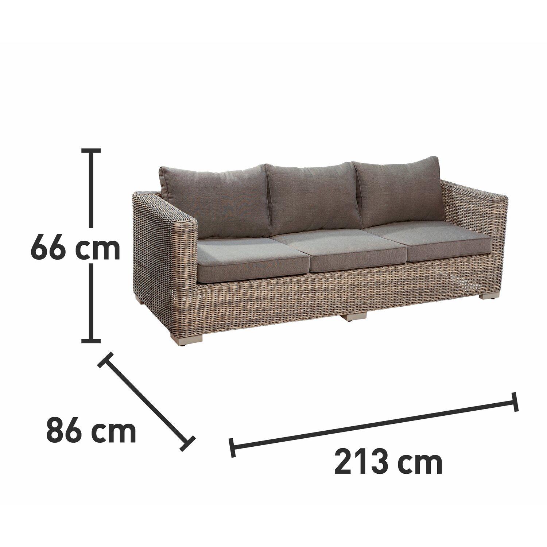 OBI 3er Couch aus Modulargruppe Stratford Nature kaufen bei OBI