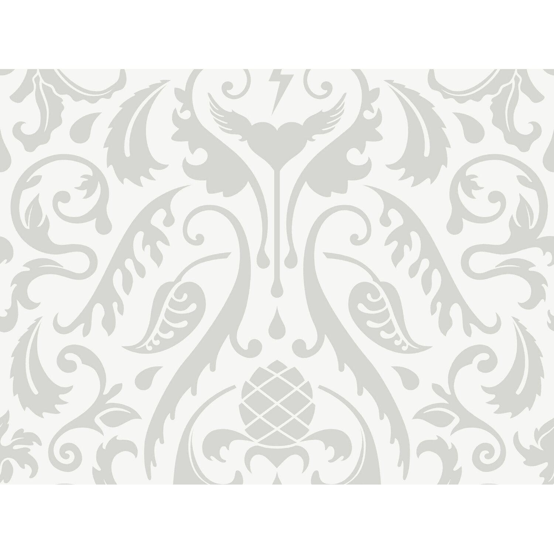Contzen  Vliestapete Muster Weiß