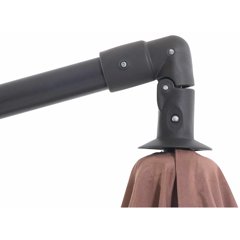 Obi Ampelschirm Alvarado Rund Mokka 300 Cm Kaufen Bei Obi