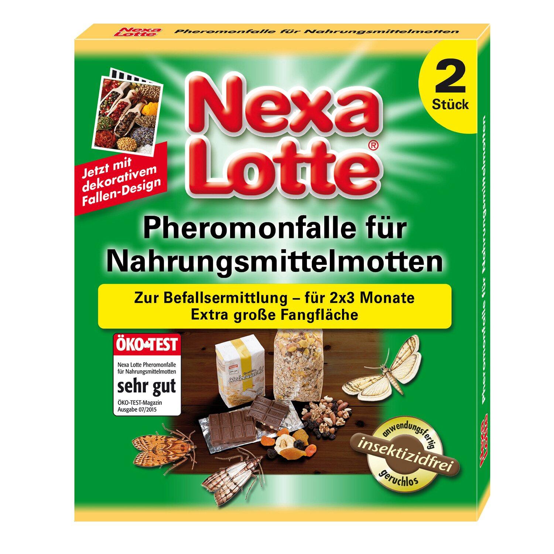 Nexa Lotte Pheromonfalle für Nahrungsmittelmott...