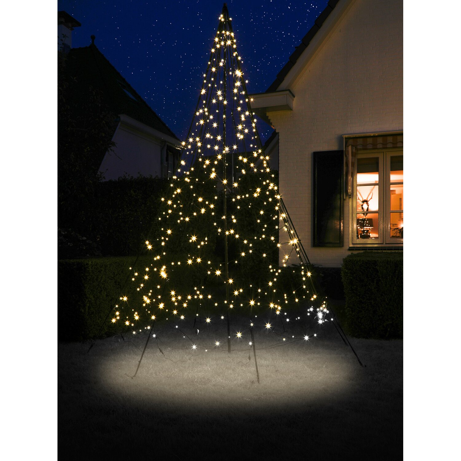 fairybell led weihnachtsbaum 480 warmwei e leds 300 cm. Black Bedroom Furniture Sets. Home Design Ideas