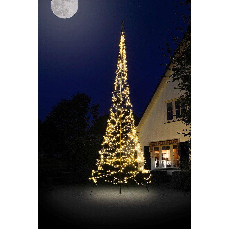 Weihnachtsbeleuchtung Außen Zug.Fairybell Led Weihnachtsbaum 900 Warmweiße Leds 600 Cm Außen