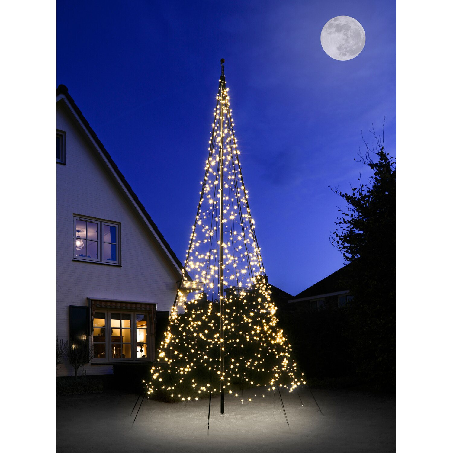 fairybell led weihnachtsbaum 1200 warmwei e leds 600 cm. Black Bedroom Furniture Sets. Home Design Ideas