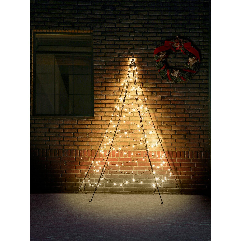 Fairybell led weihnachtsbaum wall 180 warmwei e leds 200 cm au en kaufen bei obi - Fairybell led weihnachtsbaum ...