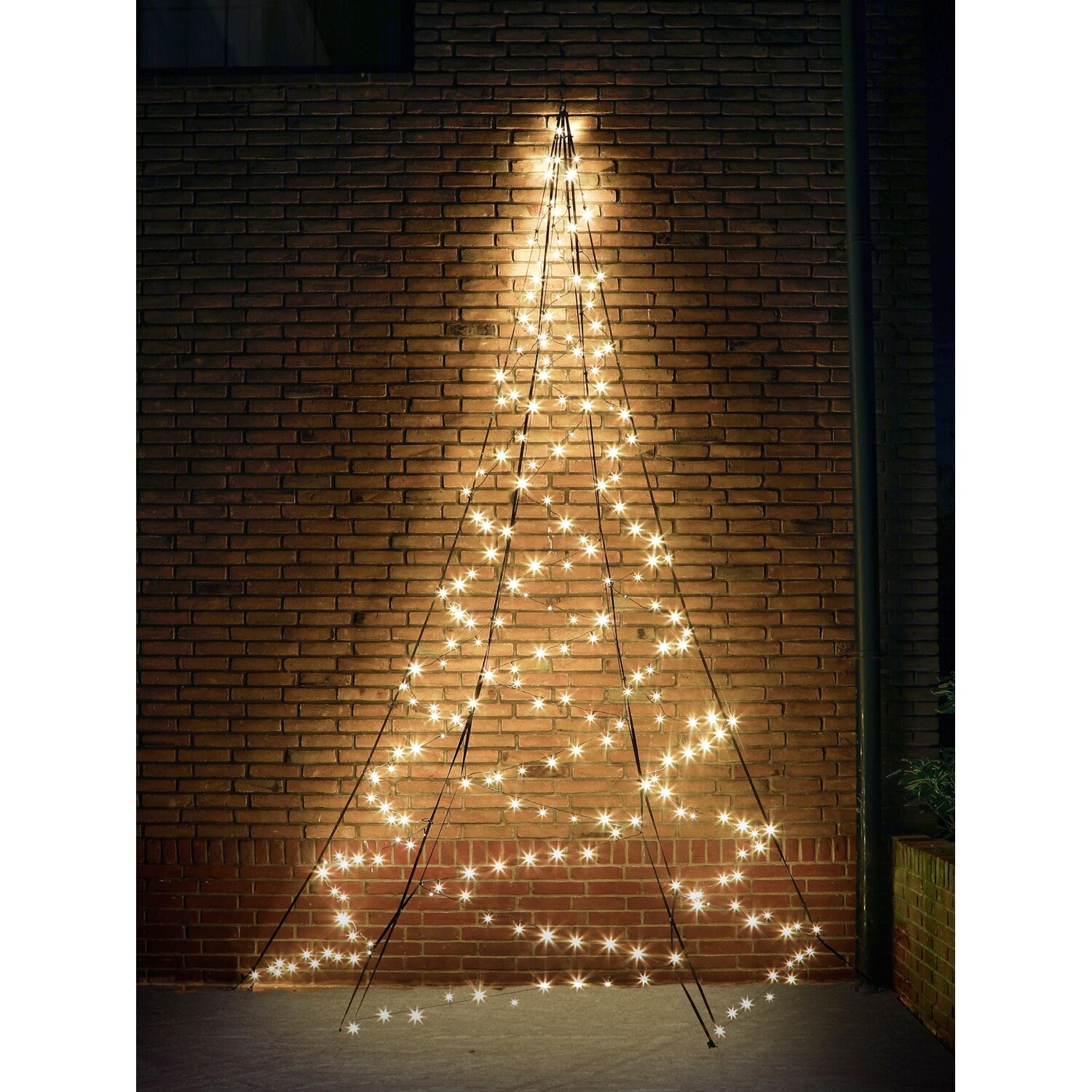 fairybell led weihnachtsbaum wall 240 warmwei e leds 400. Black Bedroom Furniture Sets. Home Design Ideas