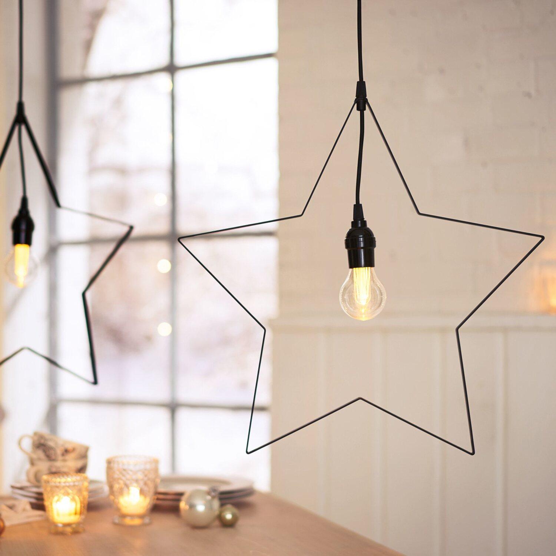beleuchtetes deko objekt modern star innen und au en kaufen bei obi. Black Bedroom Furniture Sets. Home Design Ideas