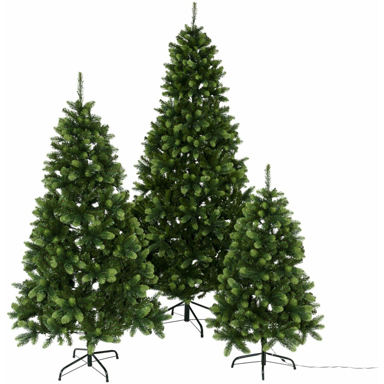 Wien Weihnachtsbaum Kaufen.Led Tannenbaum 130 Cm 100 Warmweiße Leds Kaufen Bei Obi