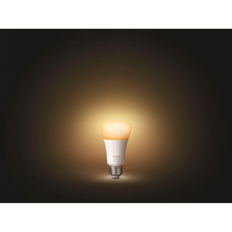 philips hue led lampen starter set white ambiance e27 inkl. Black Bedroom Furniture Sets. Home Design Ideas