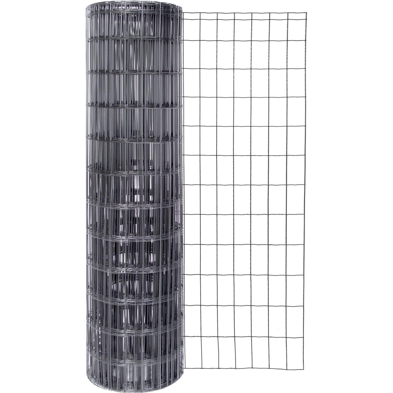 fix clip pro schwei gitter anthrazit metallic 122 cm h he kaufen bei obi. Black Bedroom Furniture Sets. Home Design Ideas