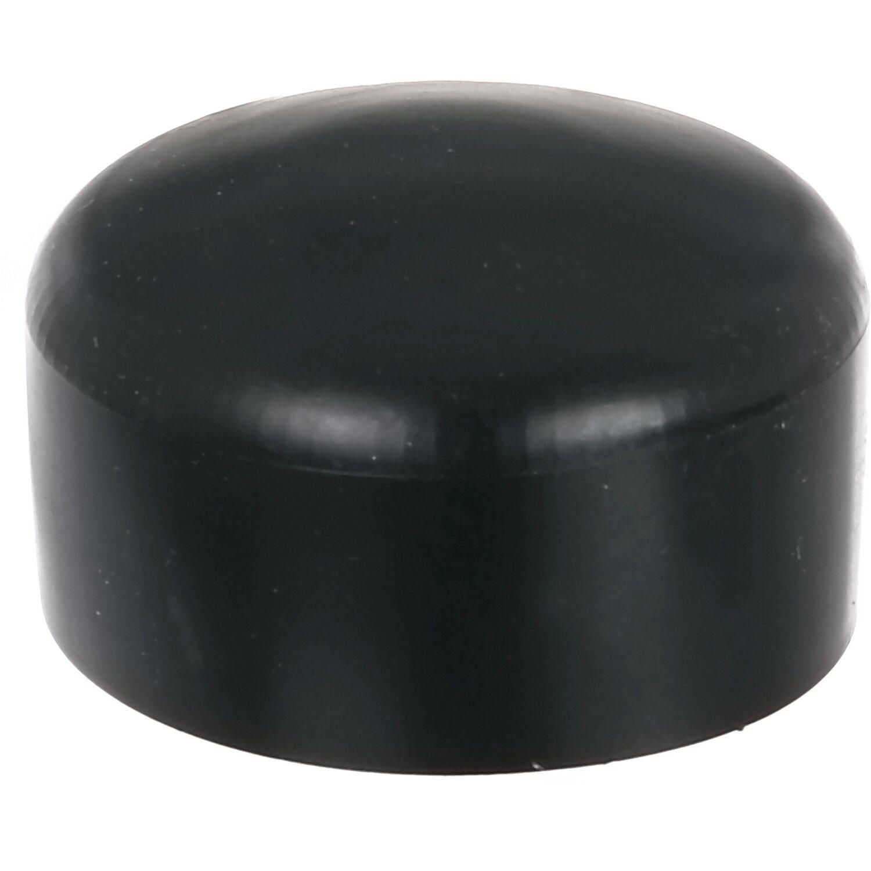 pfostenkappe rund kunststoff schwarz 60 mm kaufen bei obi. Black Bedroom Furniture Sets. Home Design Ideas