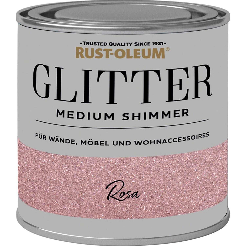 Rust Oleum Glitzerfarbe Medium Shimmer Rosa 250 Ml Kaufen