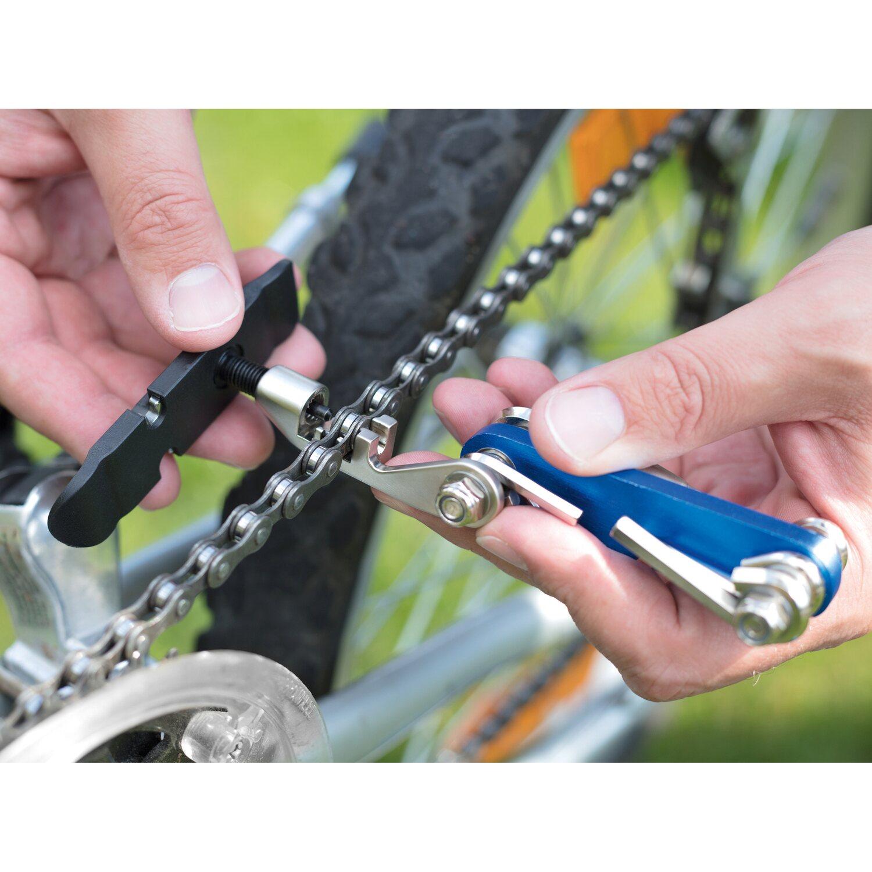 Prophete Fahrrad Reparaturset mit Multifunktionswerkzeug und